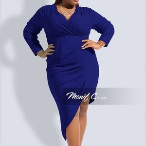Blue Monif C Dress